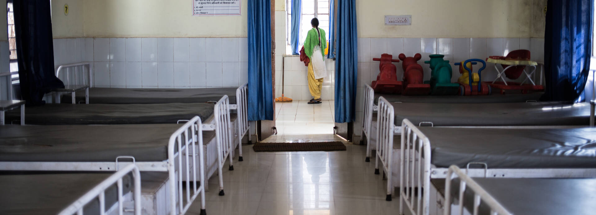 Krankenstation in Indien