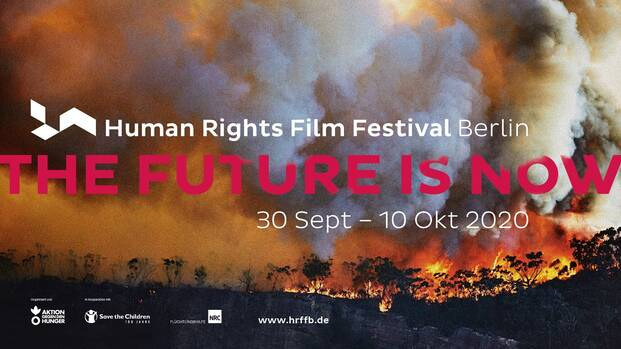 Plakat Human Rights Film Festival Berlin 2020
